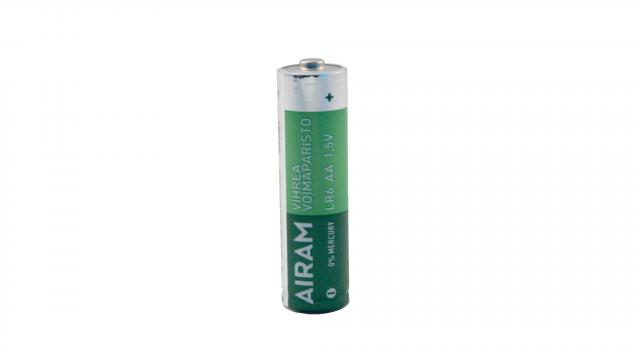 Alkaliska LR6 AA batterier
