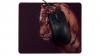 Tigerhuvud framsida med mus